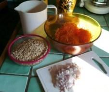 Galettes de carottes aux flocons d'épeautre (1)