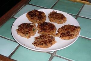 Galettes de carottes aux flocons d'épeautre (5)