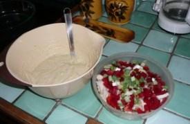 Quiche au tofu soyeux sans pâte (2)
