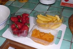 Salade épicée aux fraises (1)