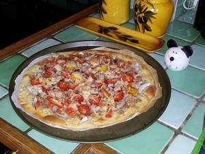 Pizza aux crevettes grises (3)