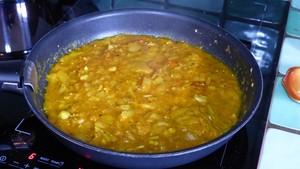 Filets de poulet au curry et à l'abricot (1)