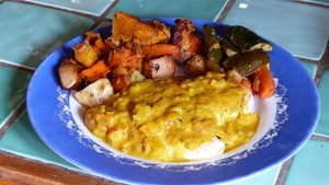 Filets de poulet au curry et à l'abricot (2)