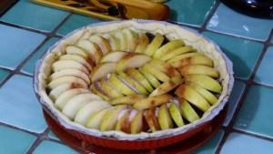 Tarte aux pommes fantaisie (2)