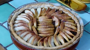 Tarte aux pommes fantaisie (3)