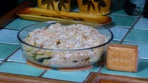 Crumble de pommes crème aux pruneaux (2)
