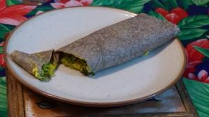 Galettes de sarrasin fourrées aux poireaux et au tofu (2)