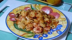 Orecchiette aux crevettes (2)