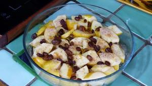 Gratin de pommes aux noisettes et purée d'amandes (1)