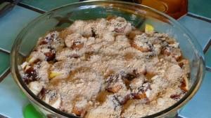 Gratin pommes bananes aux pruneaux (1)