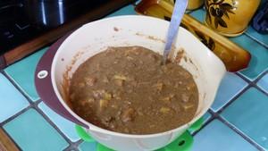 Mini cakes pudding aux pommes (1)