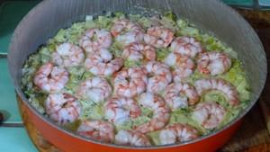 Quiche aux poireaux, au thon et aux crevettes (1)