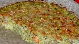 Quiche aux poireaux, au thon et aux crevettes (3)