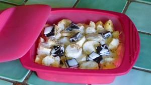 Pommes bananes au chocolat (1)