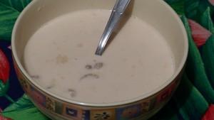 Soupe de châtaignes au lait