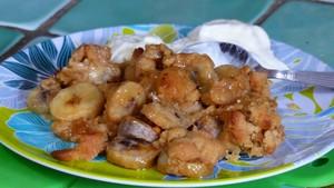 Crumble aux bananes (3)