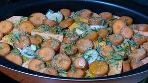Légumes rôtis au four et graines caramélisées (2)