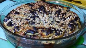 Clafoutis bananes et pommes au chocolat noir (2)