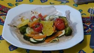 Petits légumes en papillote (2)