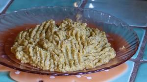 Purée de brocolis à la patate douce