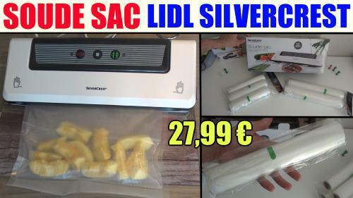 soude-sac-lidl-silvercrest-sfs-110-appareil-de-mise-sous-vide-vabuum-sealer-folienschweissgerat