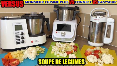 soupe monseur cuisine connect versus