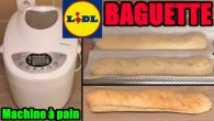 machine à pain LIDL SILVERCREST - Baguette