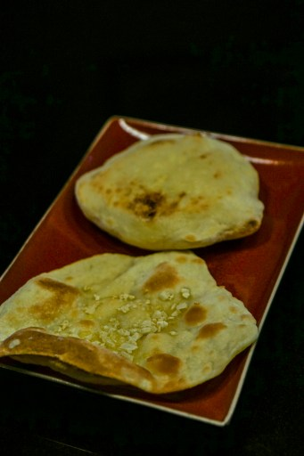 Cheese Naan and Garlic Naan