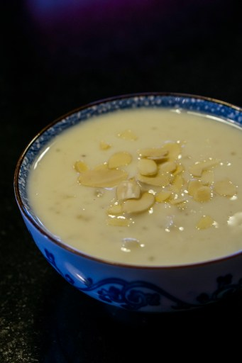 Cassava with coconut milk
