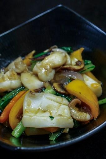 Chop Suey de Calamar