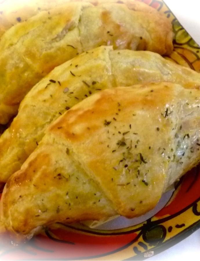 Croissants aux poivrons