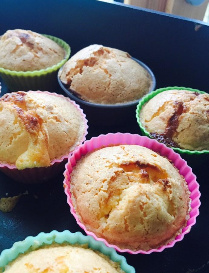 Muffins coeur lemon curd (Crème de citron)