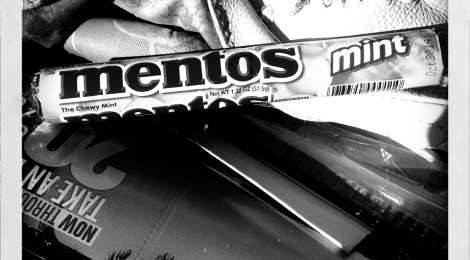 A Mentos Moment. What's in your purse?
