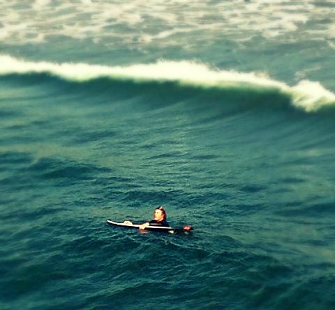 Patient Surfer Dude