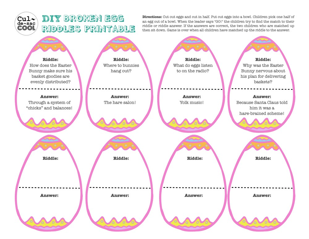 medium resolution of 12 Coolest Kid Easter Party Games