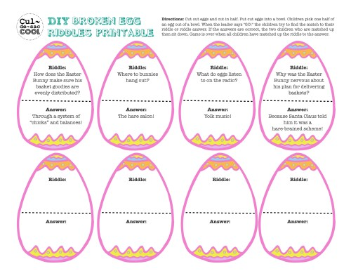 small resolution of 12 Coolest Kid Easter Party Games