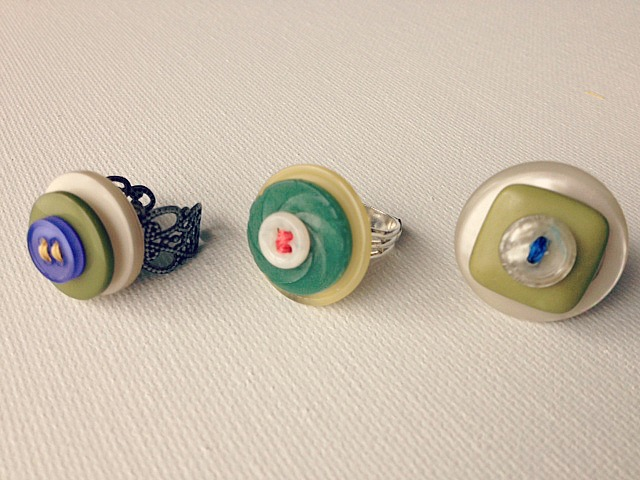 button ring 8