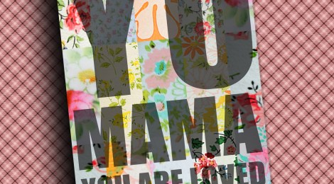DIY Printable Mother's Day Card--'YO MAMA'