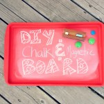 DIY Chalk & Magnetic Board