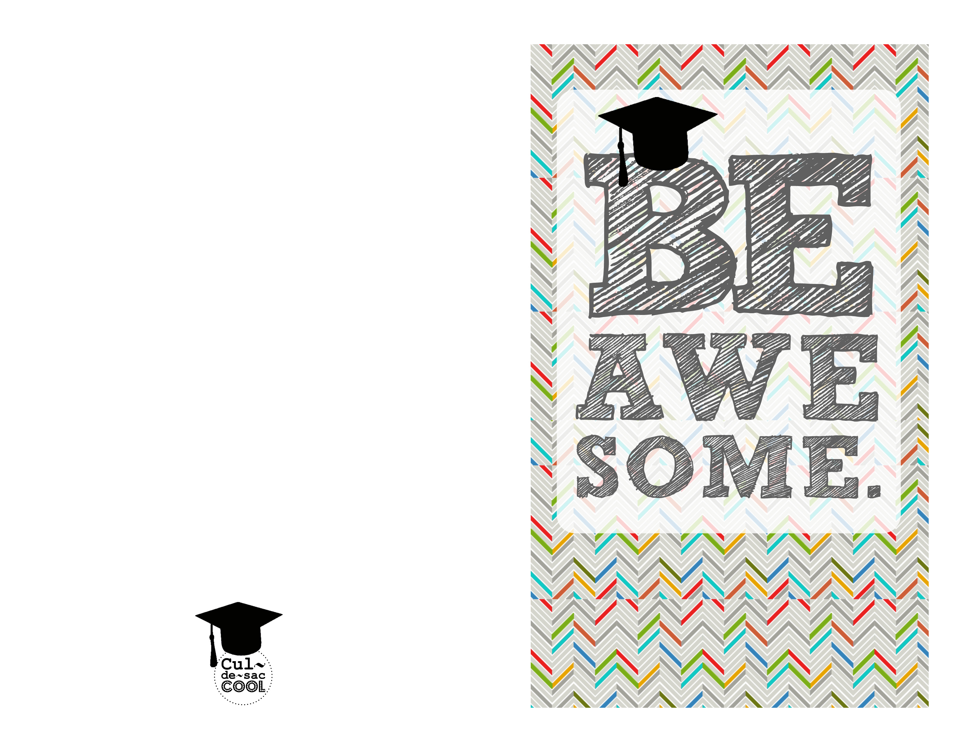 graphic regarding Graduation Cards Printable named Do-it-yourself Printable Commencement CardsOMG Be Wonderful
