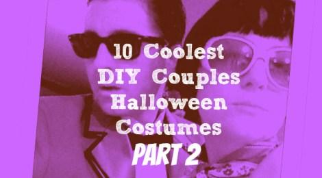 10 Coolest DIY Halloween Couples Costumes - Part 2