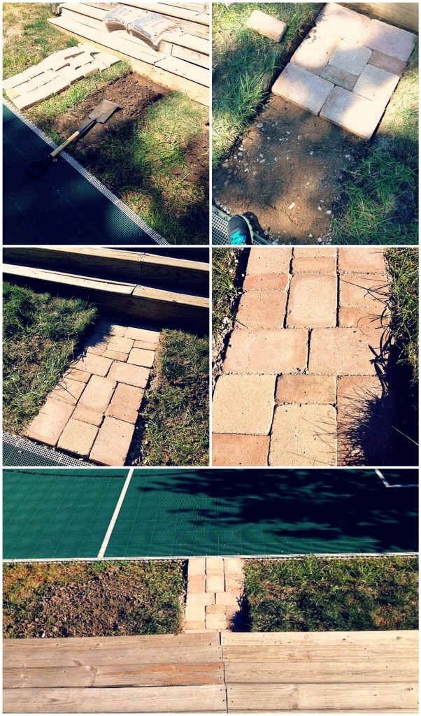 Paver Collage