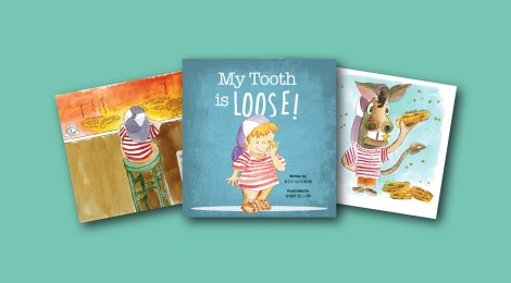 "Introducing the New Children's Picture Book ""My Tooth is Loose!"""