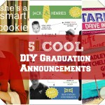 5 Cool DIY Graduation Announcements