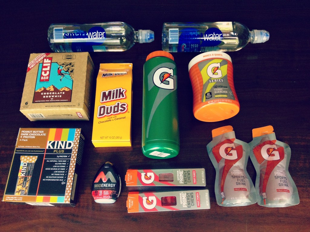 DIY Athlete College Care Package 2