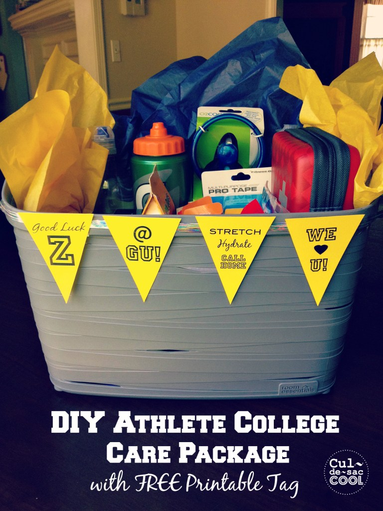 DIY Athlete College Care Package 4