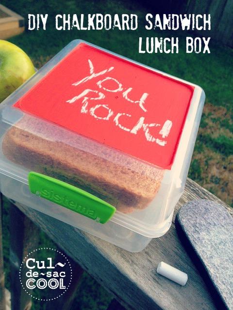 diy chalkboard sandwich lunch box 4