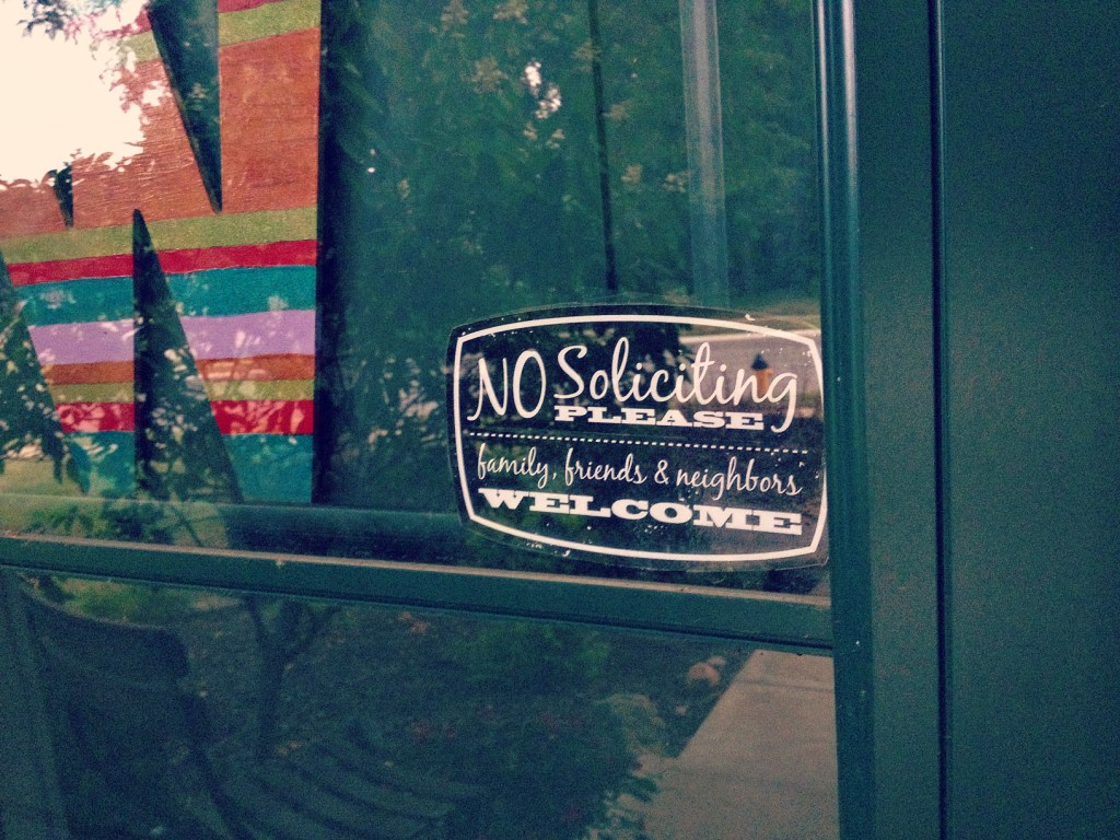 DIY Printable No Soliciting 6