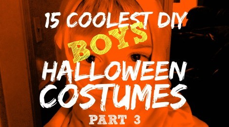 15 Coolest DIY Boys Halloween Costumes -- Part 3