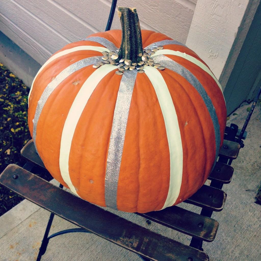 duct tape pumpkin 7